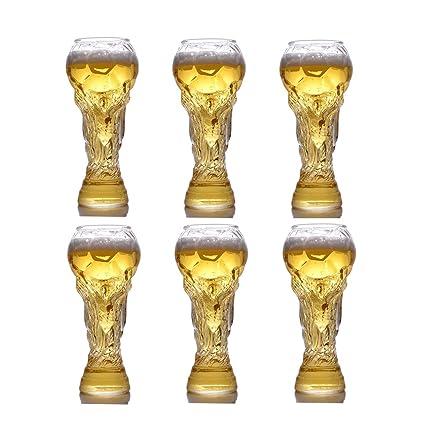 Taza De Cerveza 2X Taza De Cristal - Copa De Vino Personalizada Steins De Cerveza Taza