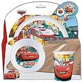 Disney - 800101 - Cars - Set Mélamine - 3 Pièces