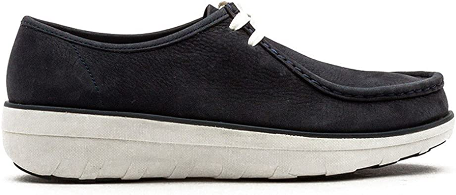 FitFlop Loaff Lace-up Moc, Mocasines para Mujer: Amazon.es ...