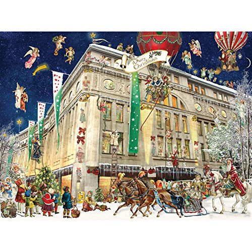 Bits and Pieces - 300 Piece Jigsaw Puzzle for Adults - Christmas In Cologne 300 - 300 pc Jigsaw by Artist Barbara Behr