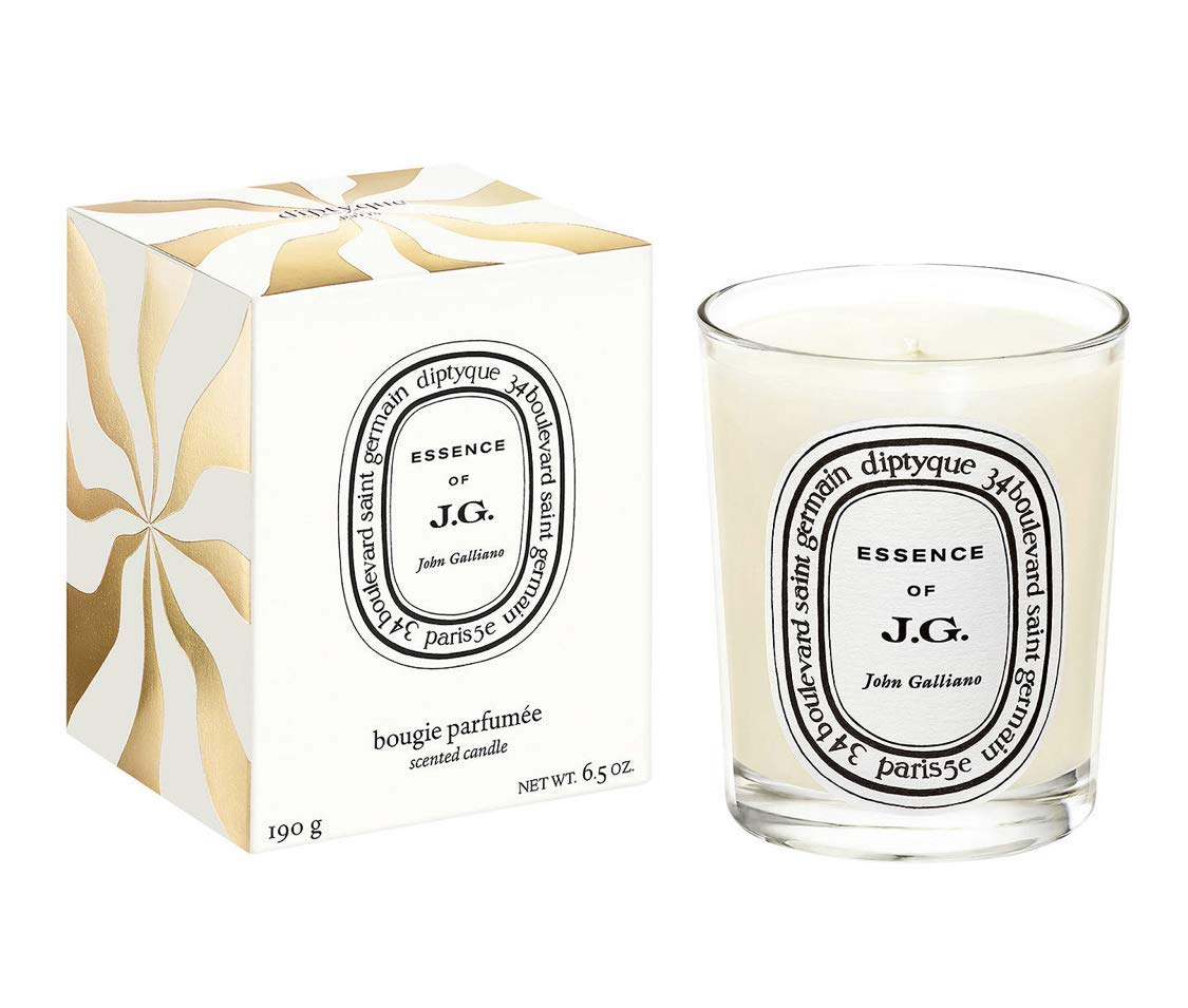 Diptyque John Galliano scented Candle 6.5 oz / 190 g. New gold packing.