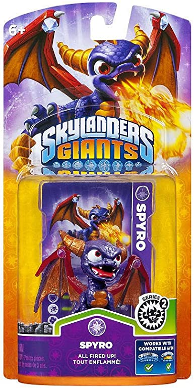 ACTIVISION Skylanders Giants - Figura Individual Spyro: Amazon.es ...