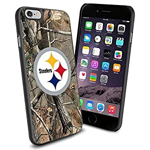 NFL Pittsburgh Steelers , Cool iphone 6 Smartphone Case Cover Collector iphone TPU Rubber Case Black