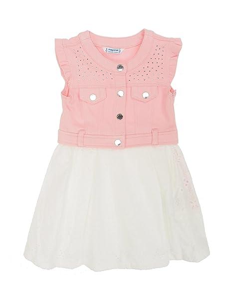 Mayoral 28-03976-029 - Vestido para niña 2 años Rosa