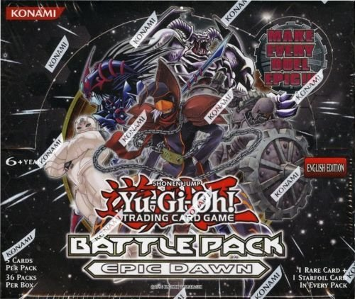 YuGiOh Epic Dawn Battle Pack Unlimited Booster Box 36 Packs ()