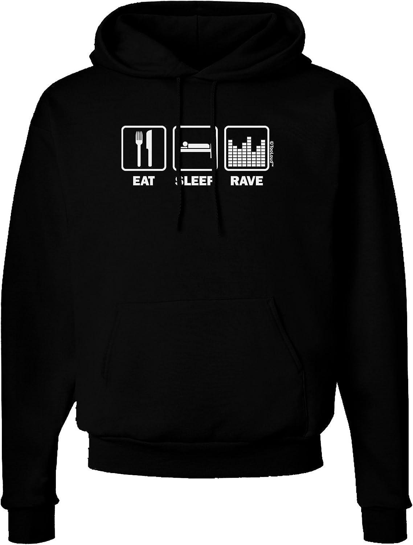 TOOLOUD Eat Sleep Rave Dark Hoodie Sweatshirt