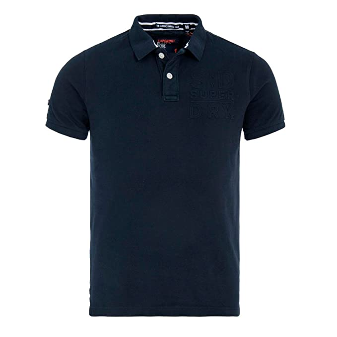 Superdry Polo M11120XQ 98T Classic Emboss S/S Pi: Amazon.es: Ropa ...