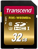 Transcend 32 GB High Speed 10 UHS Flash Memory Card (TS32GSDU3X)