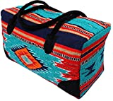 El Paso Designs Southwest Duffel Bag- Camino Real Native American and Mexican Style Jumbo Large Travel Bags (Jalisco)