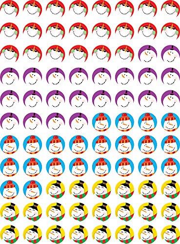 Creative Teaching Press Snowmen Hot Spots Stickers (7171)