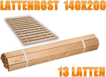 No listones de madera con somier de láminas 15 estable 6 cm ...