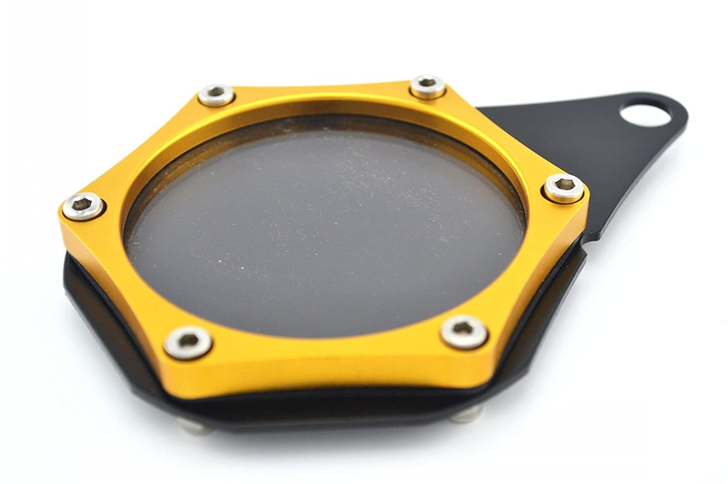 Orange Universal Motorbike accessory CNC Aluminum Alloy waterproof seal Tax Disc License Holder Fit For Suzuki HAYABUSA//GSXR1300 1999-2007
