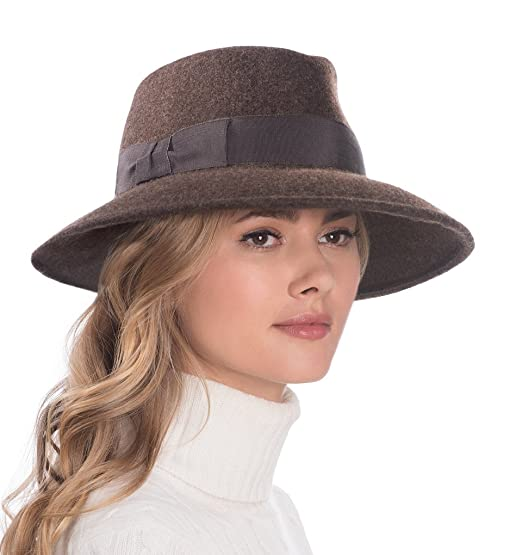 Eric Javits Luxury Fashion Designer Women s Headwear Hat - Wool Kim - Brown  Mix d1d64f5bea1