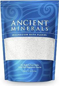 Ancient Minerals Magnesium Bath Flakes, 3.63 kg