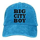Huagestroe Big City Boy Cowboy Hip-Hop Hat Rear Cap Adjustable Cap