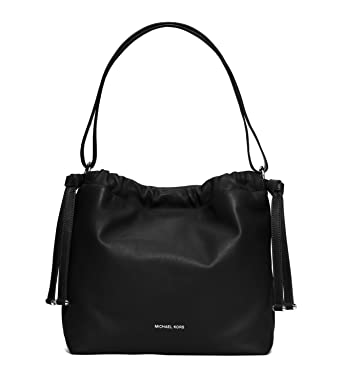 72031fbb7327 Image Unavailable. Image not available for. Color  Michael Kors Angelina  Large Leather Shoulder Bag ...