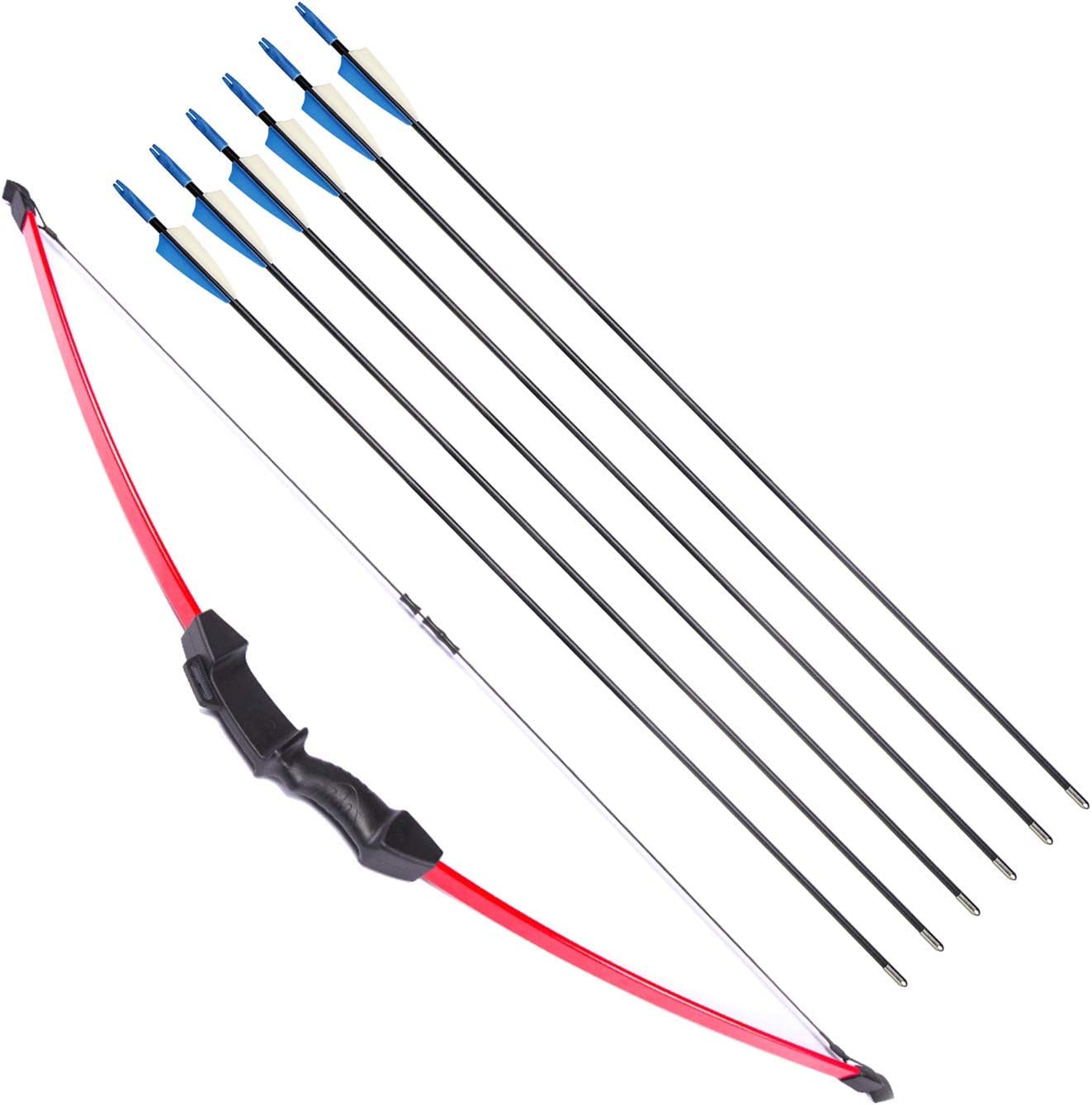 40lbs Archery Recurve Bow Arrow Set Adult Youth Junior Beginner Outdoor Hunting