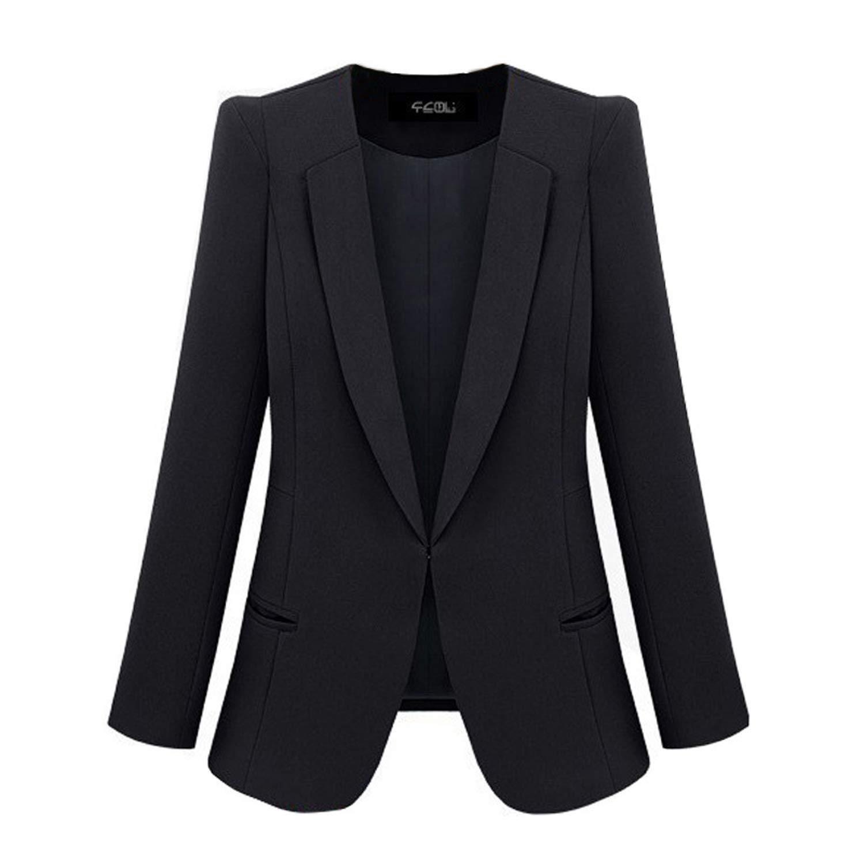 THE DESSY GROUP Womens Marlowe Peak Collar Wool Tuxedo Jacket by Dessy Group
