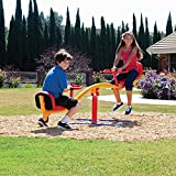 Impex Durable Teeter Go Round for Ages 3-13 Years Old