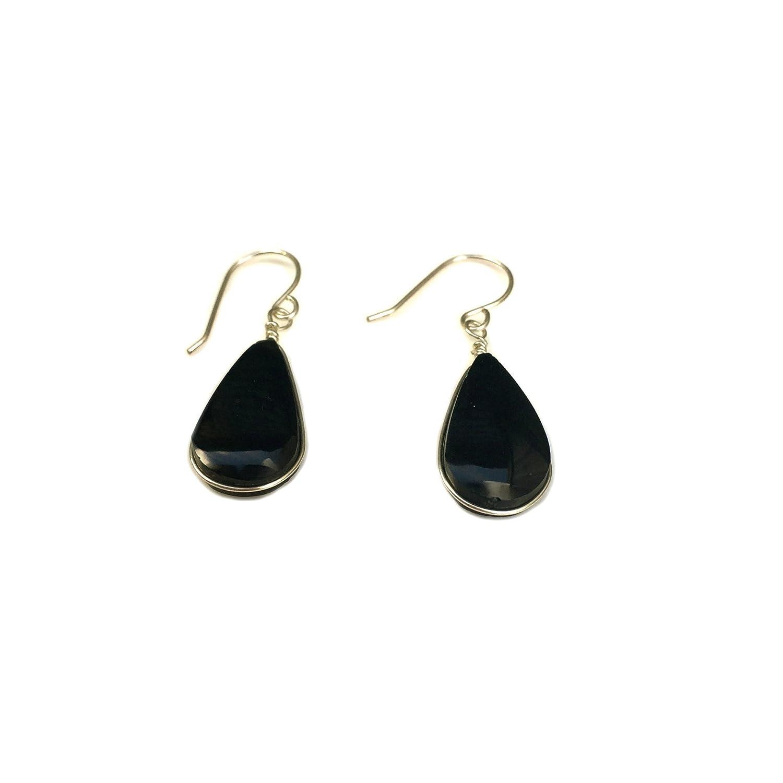 Black obsidian jewelry set silver 925 Filigree jewelry for women obsidian ring adjustable large black obsidian earrings Armenian jewelry