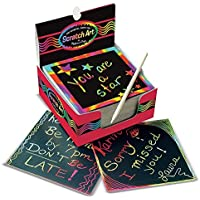 Melissa & Doug Scratch Art Rainbow Mini Notes (125 ct)...