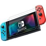 TOP FILM Nintendo Switch 保護フィルム-(2枚セット)任天堂 Switch ガラス フィルム-強化保護ガラス 高精細 クリスタル透明度 9H硬度 ガラス飛散防止 指紋防止 気泡ゼロ