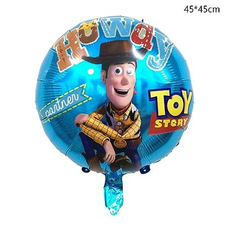 LIUUWO Balloon 1 Unids Tamaño Grande Buzz Lightyear Forma ...