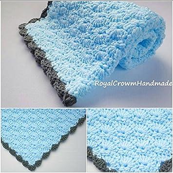 Amazon Baby Boy Blanketbaby Boy Blanket Crochetbaby Blanket