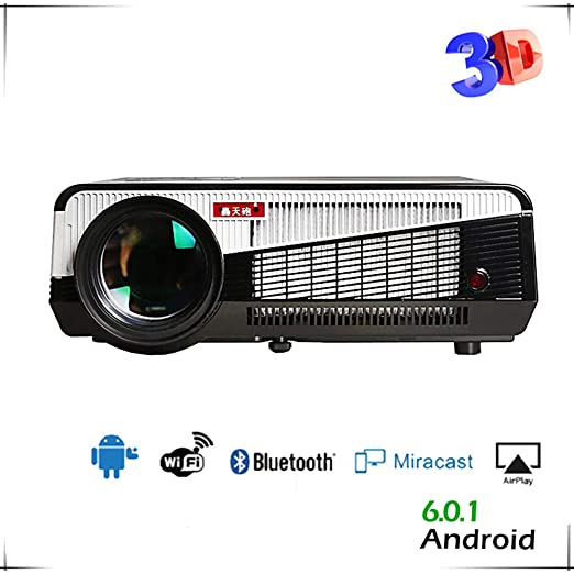 XY-store Proyector, proyector de vídeo Full HD 1080P LED proyector ...