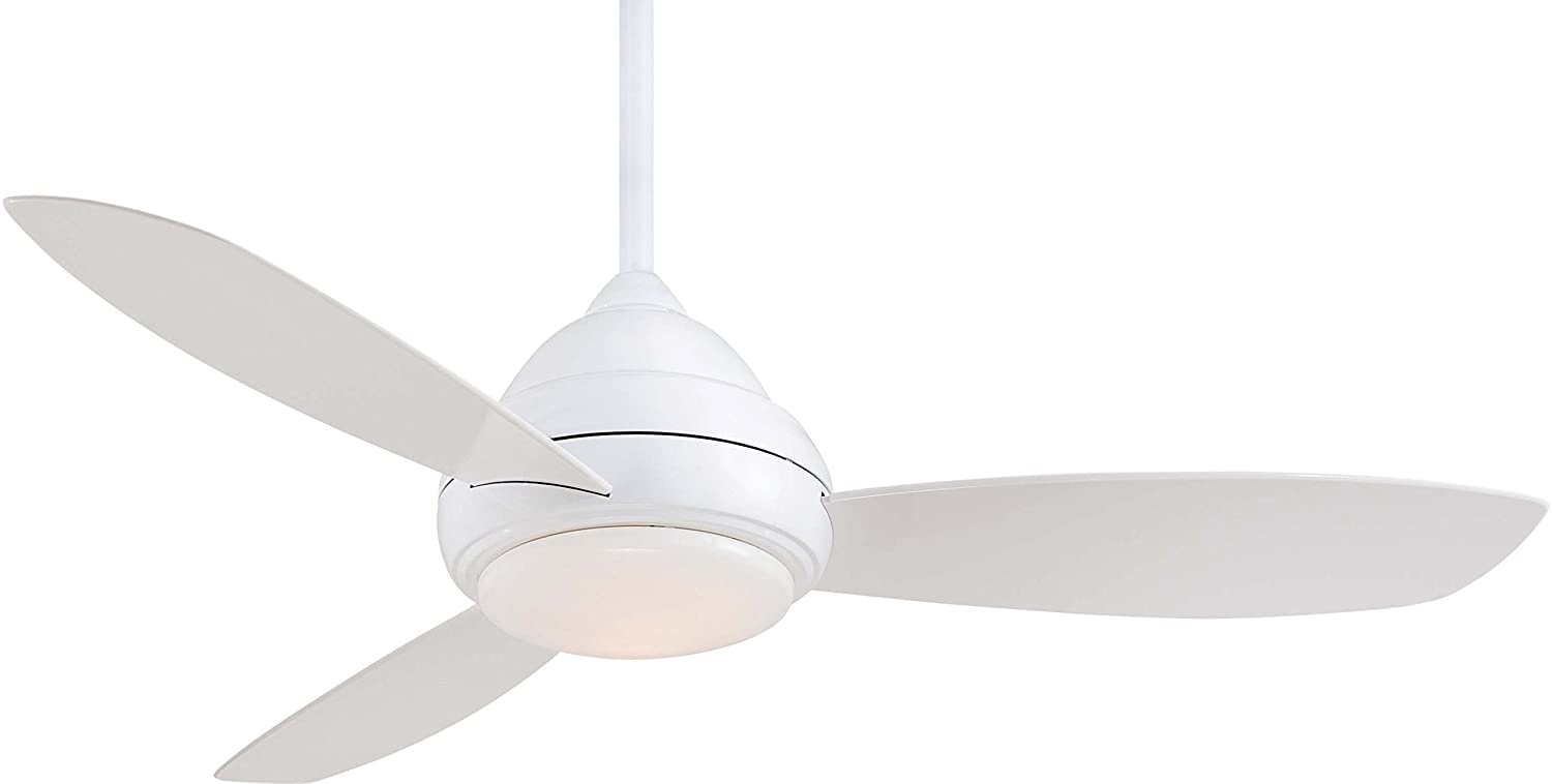 Minka Aire F517-WH One Light White Ceiling Fan by Maxim Lighting [並行輸入品] B000JZRCC0  ホワイト 52\