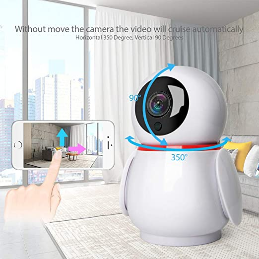 CHSHE®-☆-C15 Monitor WiFi 1080P Wireless Vigilancia Cámara ...