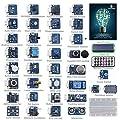 SunFounder Ultimate Sensor Kit for Arduino UNO R3 Mega2560 Mega328 Nano - Including 98 Page Instructions Book
