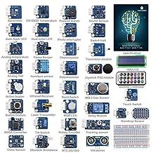 SunFounder 37 modules Arduino Sensor Kit V2.0 for Arduino UNO R3 Mega2560 Mega328 Nano