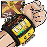 Gifts for Men on Fathers Day Dad Gifts from Wife Daughter Kid,Magnetic Wristband for Holding Screws, Birthday