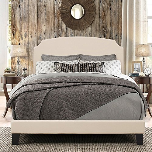 Hillsdale Furniture 2036-502 Desi Bed In One-Queen-Linen Fab