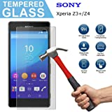 Sony Xperia Z3 Plus Screen Protector, SuperStore_Electronics Premium Tempered Glass Screen Protector [9H Hardness] [Anti-Scrach] for Sony Xperia Z3+ / Z3 Plus / Z4