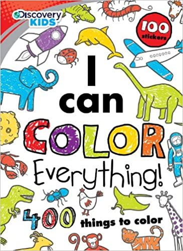 I Can Color Everything (Discovery Kids): Parragon Books ...
