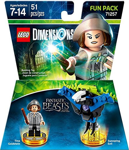 Fantastic Beasts Tina Goldstein Fun Pack - LEGO Dimensions (Lego Dimensions Adventure Time Level Pack Instructions)