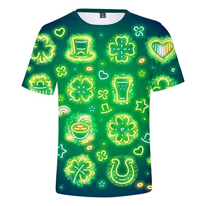 Niño gracioso St. Patrick día camiseta, traje irlandés manga ...