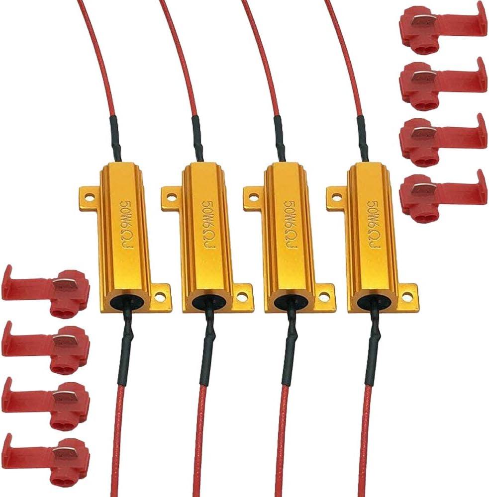 4PCS AUDEXEN 50W 6ohm Load Resistors