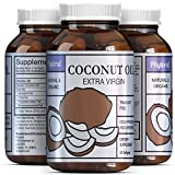 Coconut Oil Pills for Weight Loss Extra Virgin Coconut Oil - Weight Loss Pills - Coconut Oil Capsules - Pure Antioxidant - Boost Immune System - More Potent Than Sunflower Oil & Olive Oil - Organic Coconut Oil Pill - Phytoral