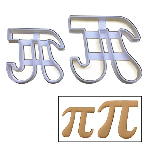 Amazon Set Of 2 Pi Symbol Cookie Cutters Large And Small Size