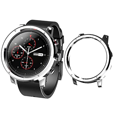 Sikai Marco Caso Cubierta Proteger Shell Compatible con Huami Amazfit Stratos 2 Sport Smartwatch Mode Lightweight Protector Case Funda per Amazfit ...