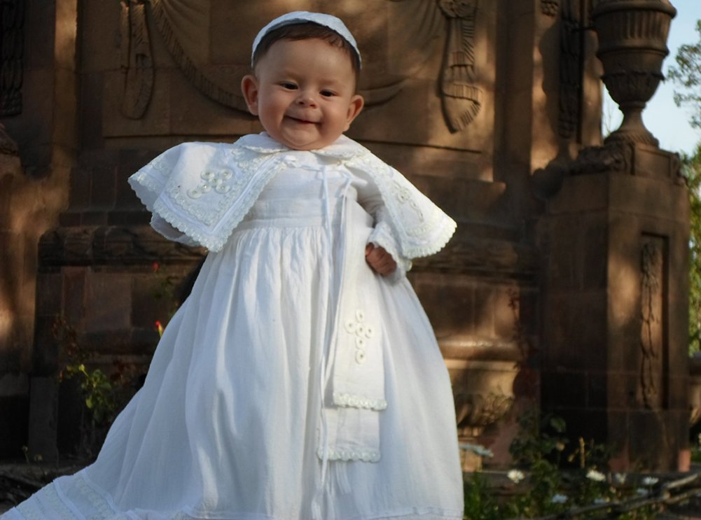 Amazon.com : Baby Boy Christening Outfit Pope Style, Baptism gown ...