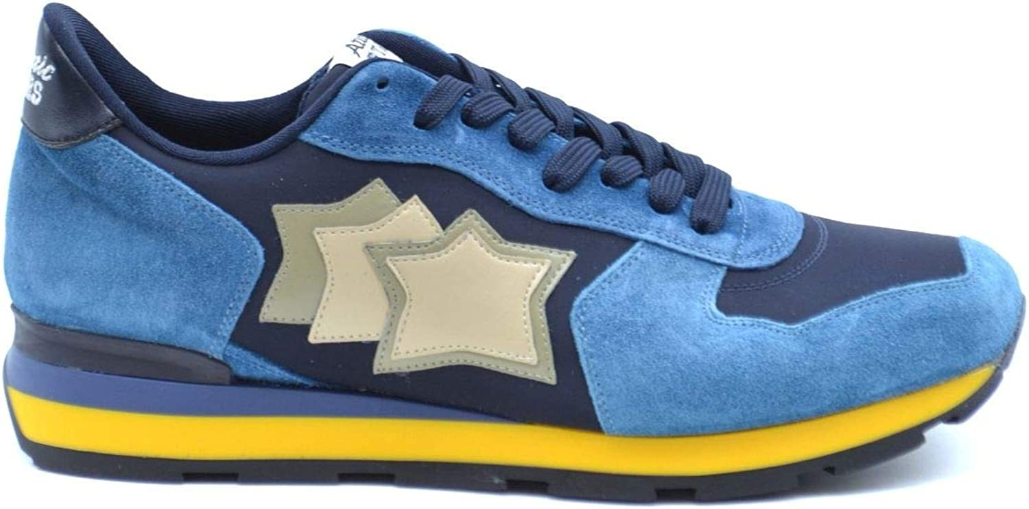 Atlantic Stars Luxury Fashion Mens Sneakers Spring Blue