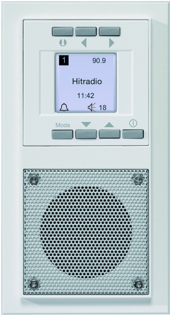 Honeywell D 20.485.02 - Sistema de radio/hilo musical integrado, diseñ o Aura diseño Aura PEHA D 20.485.02 RADIO
