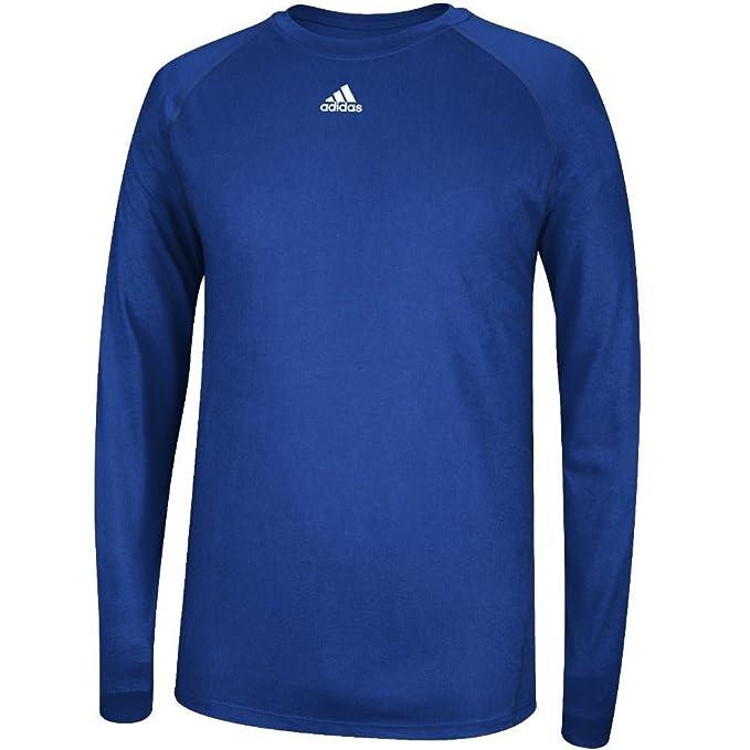 16409a66 Adidas Climalite Mens Long Sleeve Training Tee: Amazon.ca: Clothing ...