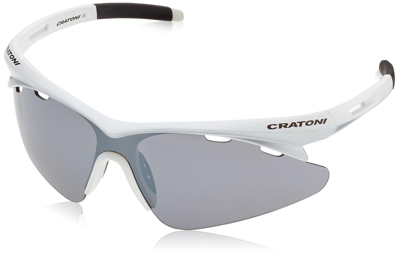 Cratoni Fahrradbrille Futuro Simplex, Black Neon Yellow Matt, One size, 21014104