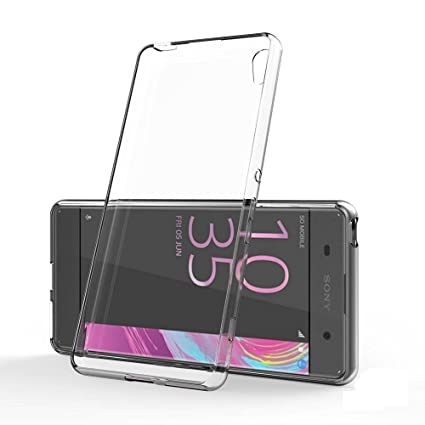 newest 3d831 9b7df Johra for Sony Xperia XA Ultra Back Cover Case Soft TPU Case for Xperia XA  Ultra Transparent Back Cover