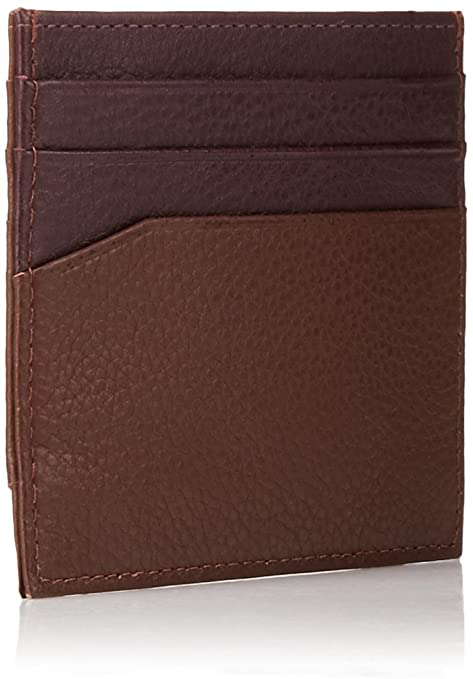 8f0a9a9c9 Ted Baker mens Coloured Leather Card Holder Credit Card Holder - brown -   Amazon.co.uk  Clothing